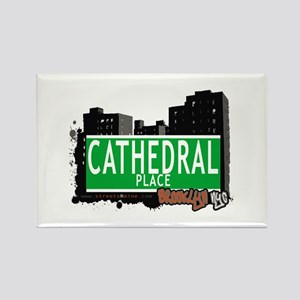 CATHEDRAL PLACE, BROOKLYN, NYC Rectangle Magnet