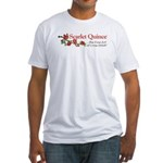 Scarlet Quince Logo Fitted T-Shirt