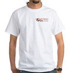 Scarlet Quince Logo White T-Shirt