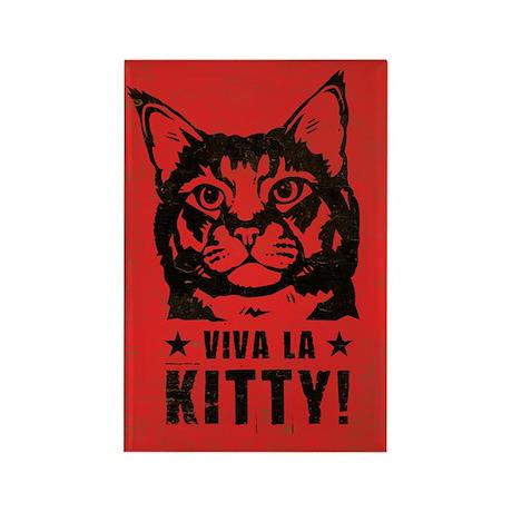 Viva la Kitty! Cat Revolution Magnet