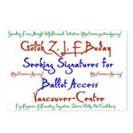 Vancouver-Centre Signatures Postcards (Package of