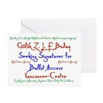 Vancouver-Centre Signatures Greeting Cards (Pk of