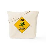 Go Green Pedestrian Reusable Tote Bag