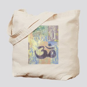 Om Abstract Tote Bag