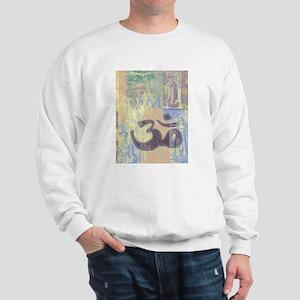 Om Abstract Sweatshirt
