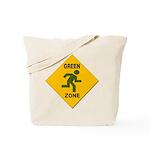 Green Zone Reusable Canvas Tote Bag