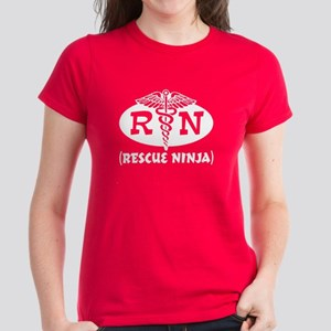 Ninja Nurse Women's Dark T-Shirt