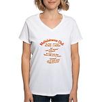 MsHelaineous 10 Year Women's V-Neck T-Shirt