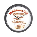 MsHelaineous 10 Year Wall Clock