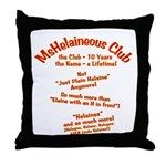 MsHelaineous 10 Year Throw Pillow