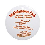 MsHelaineous 10 Year Ornament (Round)