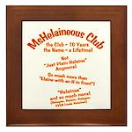 MsHelaineous 10 Year Framed Tile