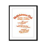 MsHelaineous 10 Year Framed Panel Print