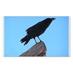 Raven Rectangle Sticker 50 pk)