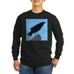 Raven Long Sleeve Dark T-Shirt