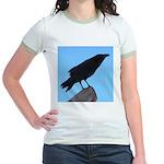 Raven Jr. Ringer T-Shirt