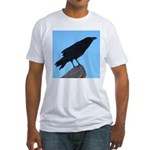 Raven Fitted T-Shirt