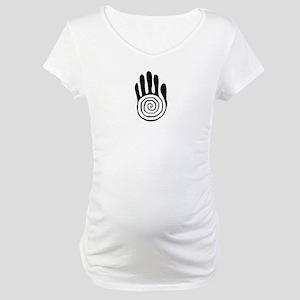 Sacred Hand in Black - Maternity T-Shirt