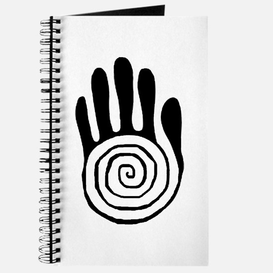 Sacred Hand in Black - Journal