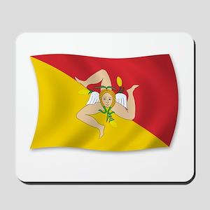 Sicily Sicilia Sicilian Flag Mousepad