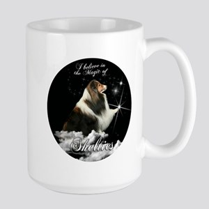 Magic Shelties Stainless Steel Travel Mugs