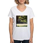 Sunny Oak Women's V-Neck T-Shirt