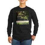 Sunny Oak Long Sleeve Dark T-Shirt