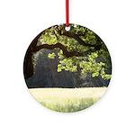 Sunny Oak Ornament (Round)