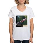 Gobbling Gobbler Women's V-Neck T-Shirt