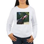 Gobbling Gobbler Women's Long Sleeve T-Shirt