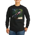 Gobbling Gobbler Long Sleeve Dark T-Shirt