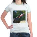 Gobbling Gobbler Jr. Ringer T-Shirt