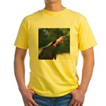 Gobbling Gobbler Yellow T-Shirt