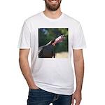 Gobbling Gobbler Fitted T-Shirt