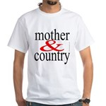 365.mother& country White T-Shirt