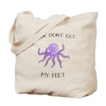 Don't eat Feet! (PETA) Tote Bag