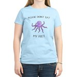Don't eat Feet! (PETA) Women's Light T-Shirt