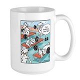 Dalmatians Large Mugs (15 oz)