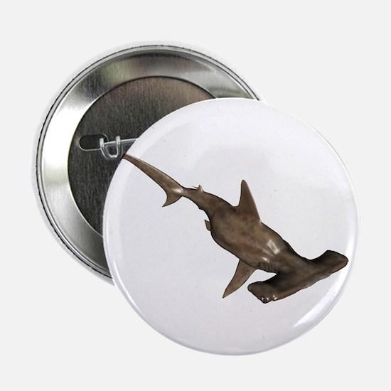 """Hammerhead Shark 2.25"""" Button"""