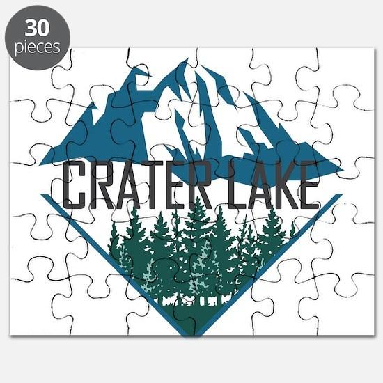 Crater Lake - Oregon Puzzle