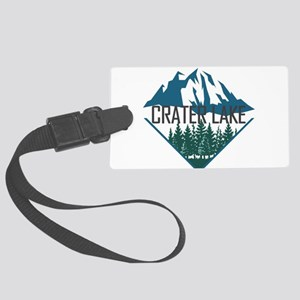 Crater Lake - Oregon Large Luggage Tag