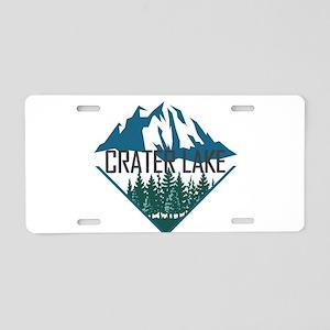 Crater Lake - Oregon Aluminum License Plate