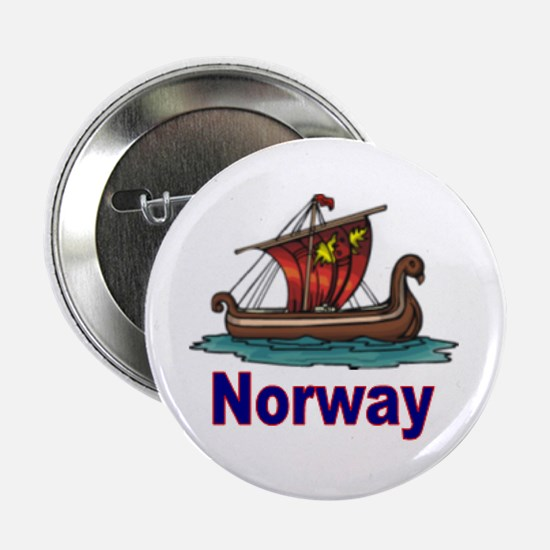 Viking Ship -2- Norway Button