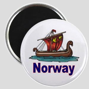Viking Ship -2- Norway Magnet