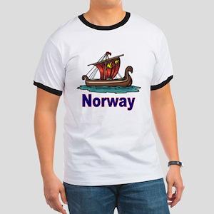 Viking Ship -2- Norway Ringer T
