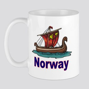 Viking Ship -2- Norway Mug