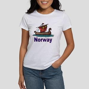 Viking Ship -2- Norway Women's T-Shirt