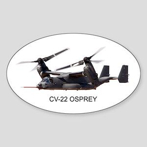 CV-22 OSPREY Oval Sticker
