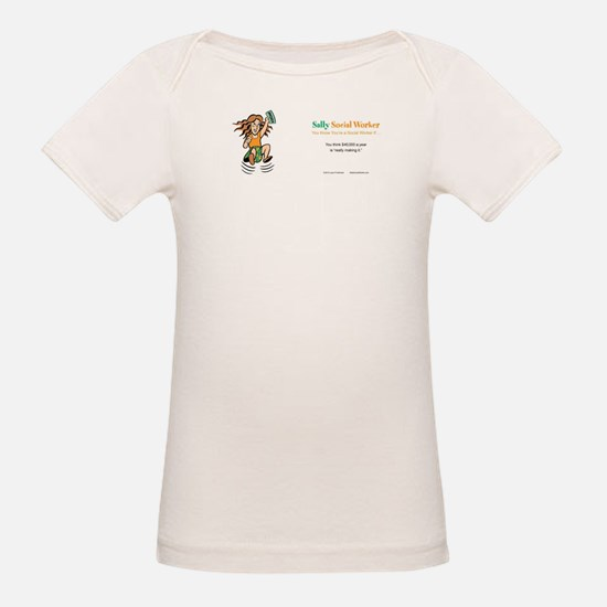 Sally SocialWorker Strikes it Rich T-Shirt