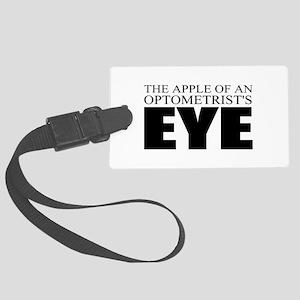 Optometrist Large Luggage Tag